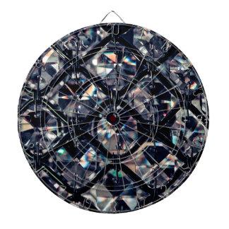 Dark Crystal Gems Print Dartboard With Darts