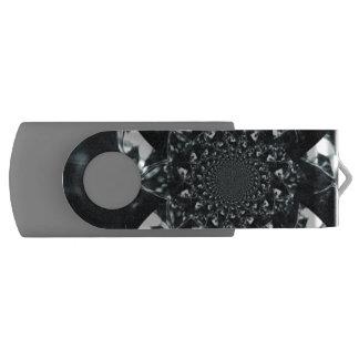 Dark crystal reflection USB flash drive