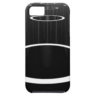 Dark Cylinders iPhone 5 Case