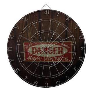 Dark danger high voltage dartboard