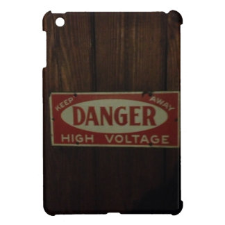 Dark danger high voltage iPad mini cases
