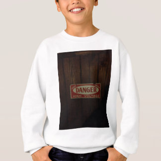 Dark danger high voltage sweatshirt
