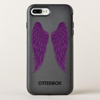 Dark Deep Purple Angel Wings OtterBox Symmetry iPhone 8 Plus/7 Plus Case