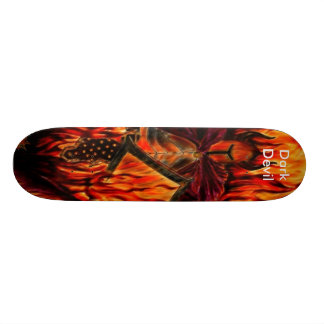 Dark Devil Skateboard Deck