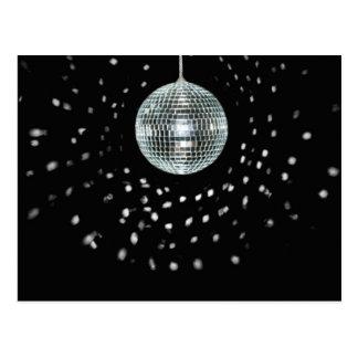 Dark Disco Ball Postcard