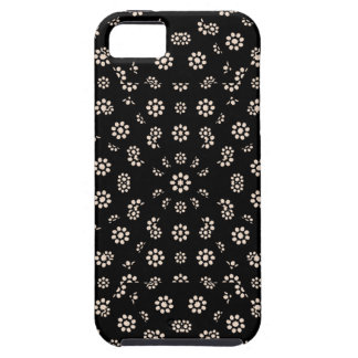 Dark Ditsy Floral Pattern iPhone 5 Cover