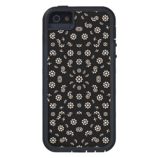 Dark Ditsy Floral Pattern iPhone 5 Covers
