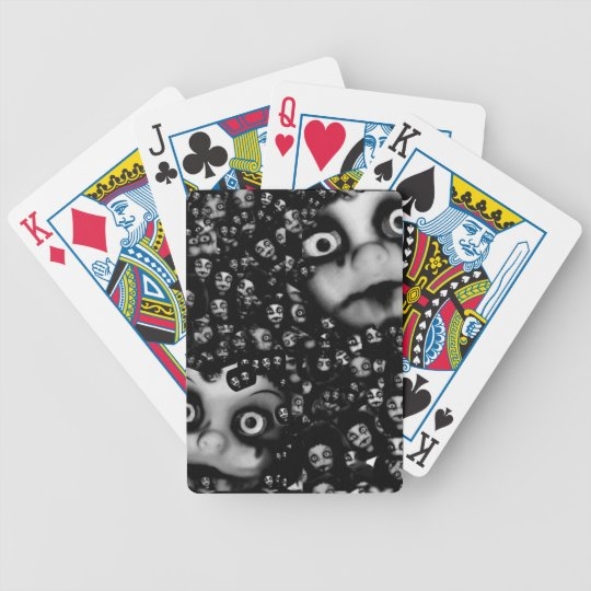 Dark dolls scary products bicycle playing cards