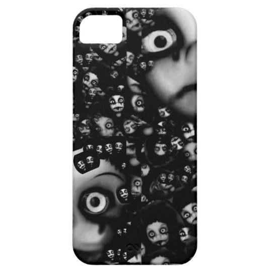 Dark dolls scary products case for the iPhone 5