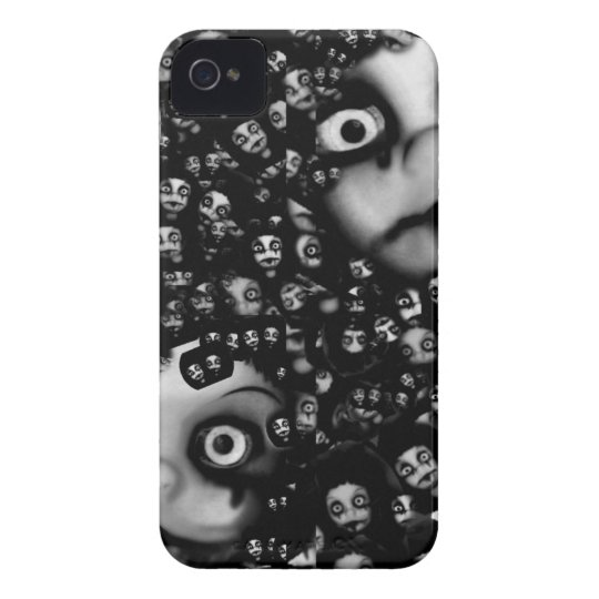 Dark dolls scary products Case-Mate iPhone 4 case