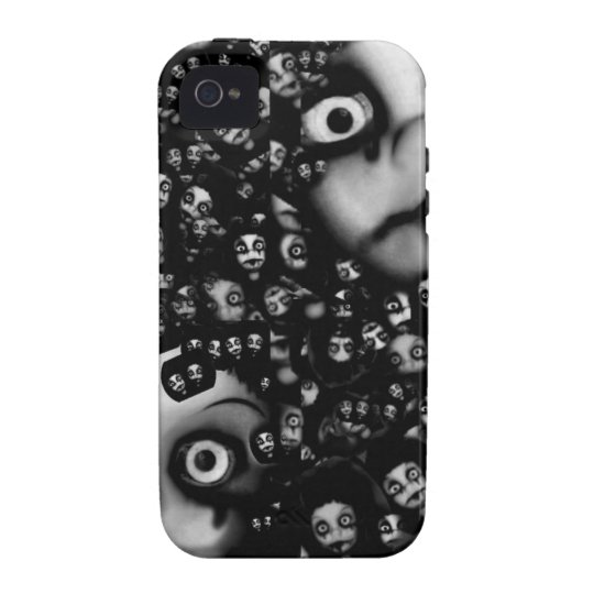 Dark dolls scary products iPhone 4/4S covers