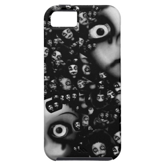 Dark dolls scary products iPhone 5 cover
