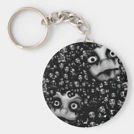 Dark dolls scary products keychain