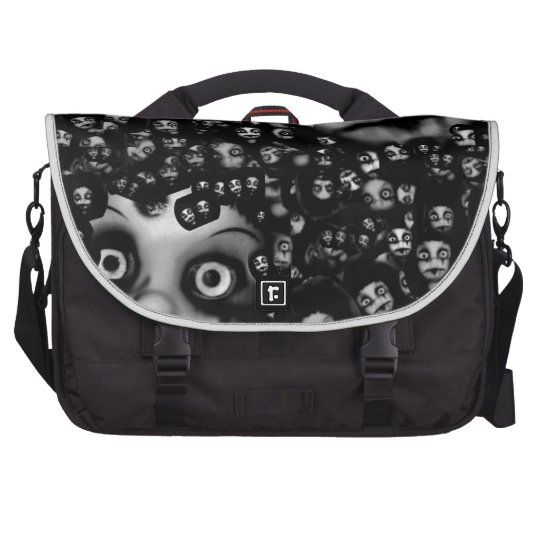 Dark dolls scary products laptop bags
