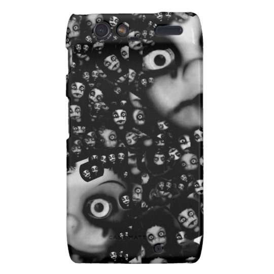 Dark dolls scary products motorola droid RAZR cover