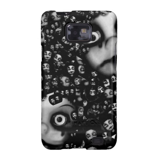 Dark dolls scary products samsung galaxy SII covers