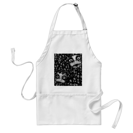 Dark dolls scary products standard apron