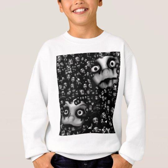 Dark dolls scary products sweatshirt