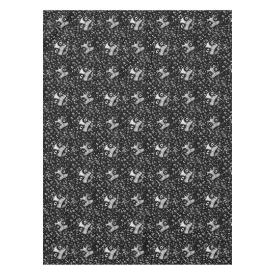 Dark dolls scary products tablecloth