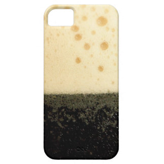 Dark drink with foam case