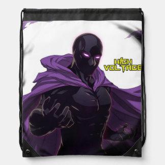Dark Eclipse Drawstring Backpack