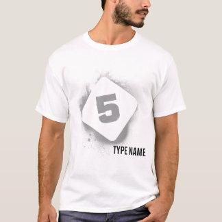 Dark Eden Stencil - 5 T-Shirt
