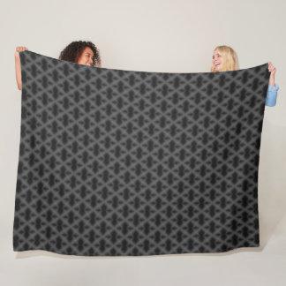 Dark Egyptian Dragon Diamond Pattern Fleece Blanket