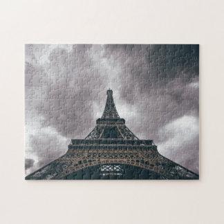 Dark Eiffel Tower Jigsaw Puzzle