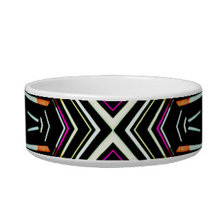 Dark Ethnic Sharp Bold Pattern Bowl