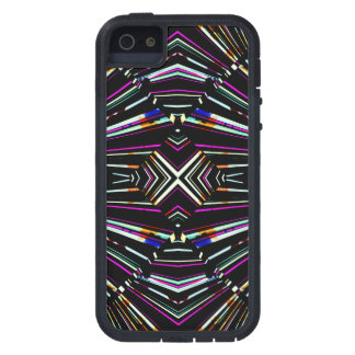 Dark Ethnic Sharp Bold Pattern iPhone 5 Cover