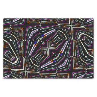 Dark Ethnic Sharp Bold Pattern Tissue Paper