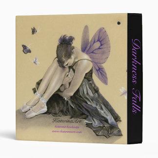 Dark Fairy Purple Wings Binder