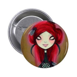 Dark Fairy Tale Character 14 Button
