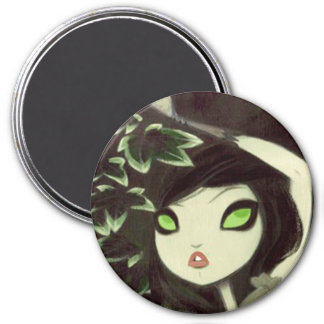 Dark Fairy Tale Character 16 3 Inch Round Magnet