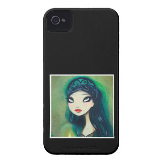 Dark Fairy Tale Character 17 iPhone 4 Cases