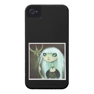 Dark Fairy Tale Character 6 iPhone 4 Cases
