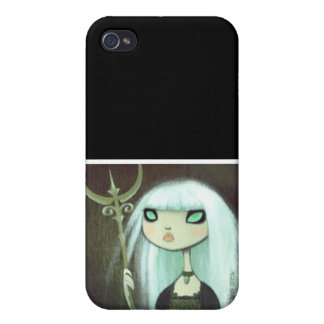 Dark Fairy Tale Character 6 iPhone 4 Covers