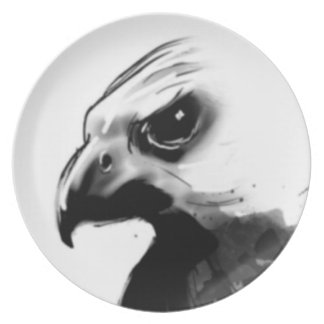 Dark Falcon Plate