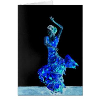 Dark Flamenco. Card