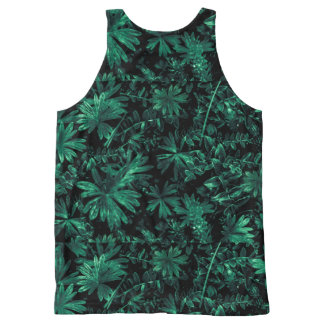 Dark Flora Photo All-Over-Print Tank Top