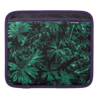 Dark Flora Photo iPad Sleeve