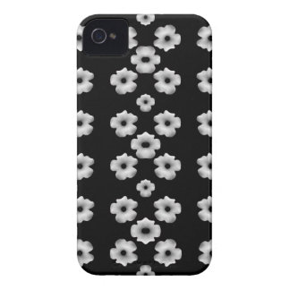Dark Floral iPhone 4 Covers
