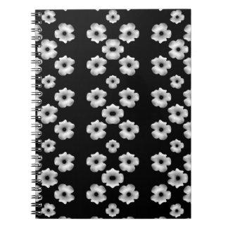 Dark Floral Notebook