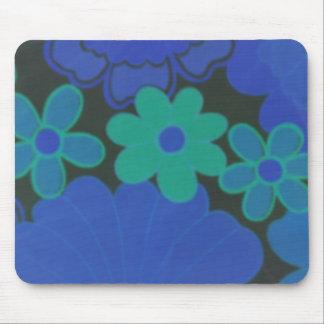 Dark Flower's-70's Retro Mouse Pad