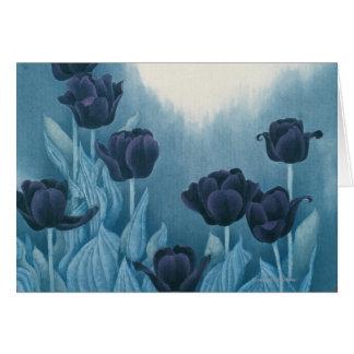 Dark Flowers Card