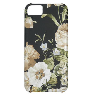 Dark Flowers. Cover For iPhone 5C
