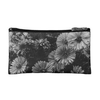 Dark Flowers Makeup Bag