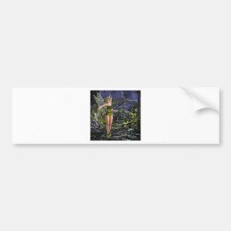 Dark Forest Fairy Bumper Sticker