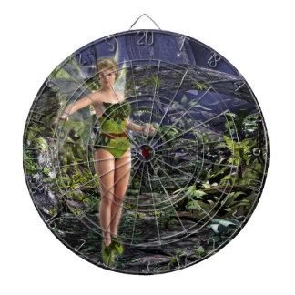 Dark Forest Fairy Dart Board