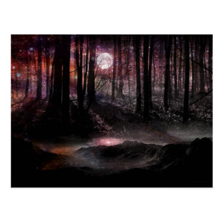Dark Forest in the Cosmos Postcard